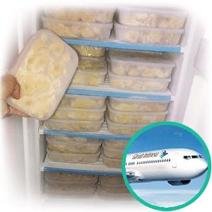 freezer durian