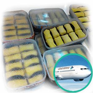 pancake durian shipping