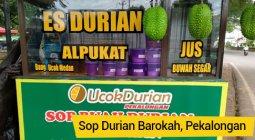 sop durian barokah pekalongan